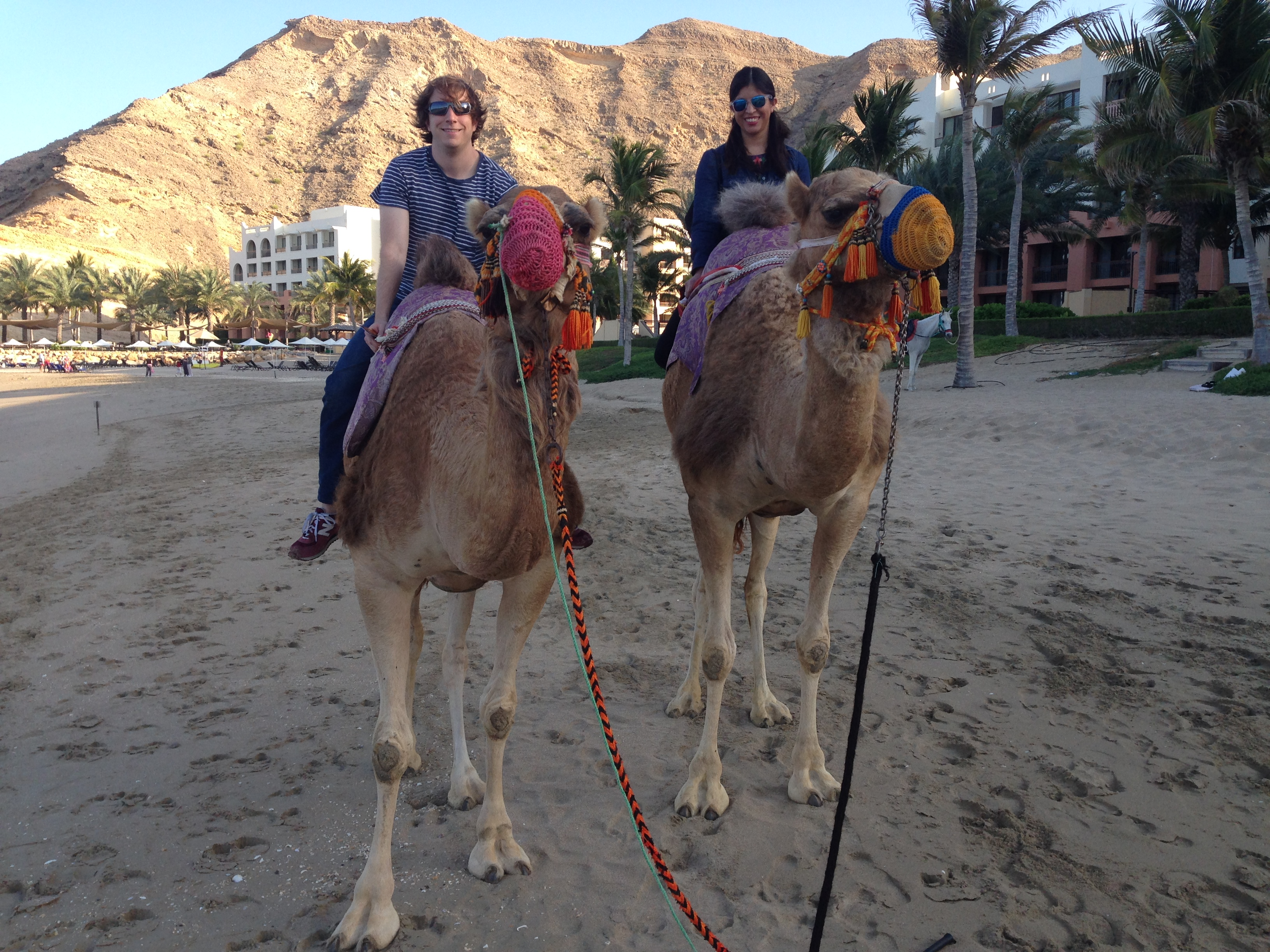 Picture of me on a camel