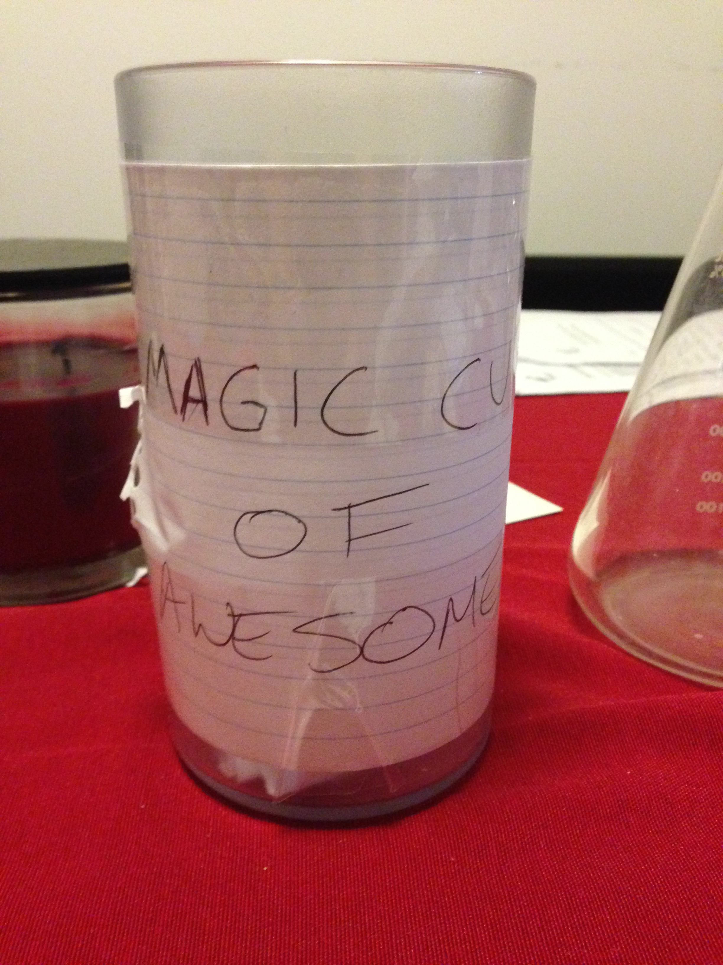 Picture of the magic cup of awesome