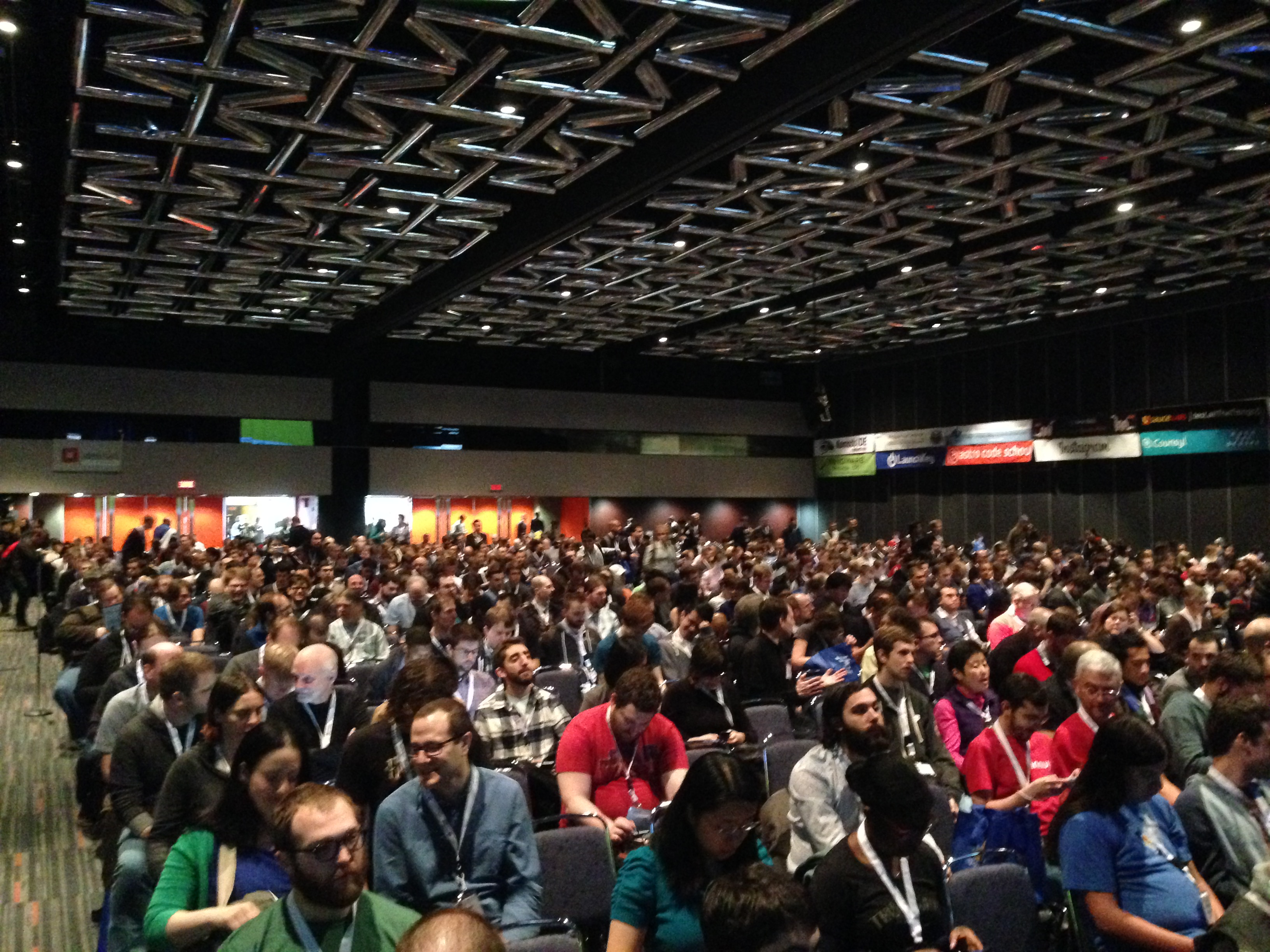 Picture of PyCon 2015 attendees